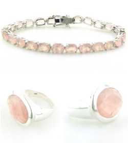 Rose Quartz Jewellery - Gemstone Jewellery Booth and Booth