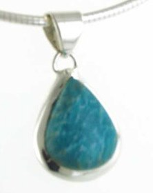Amazonite Pendants - Booth and Booth