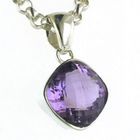 Amethyst Pendant Lucille