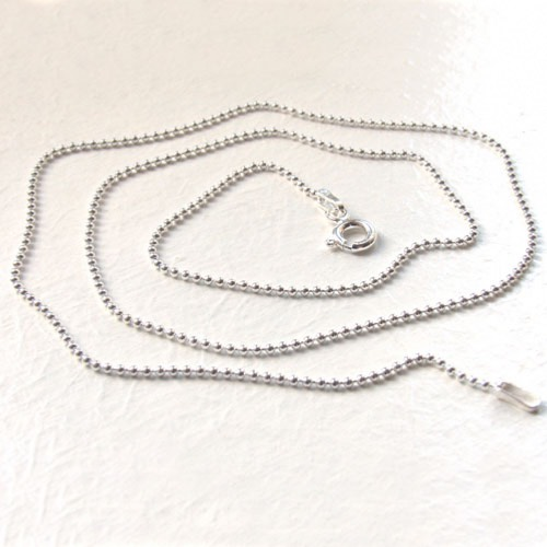 Sterling Silver Ball Chain - 1.2mm