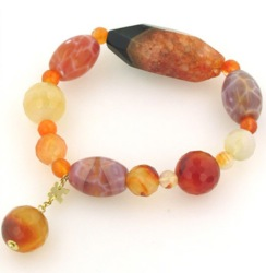Agate Bracelets - Boothandbooth.co.uk