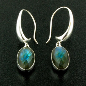 Labradorite Earrings Serena