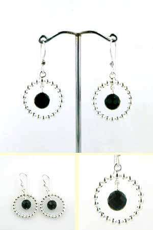 Black Onyx Earrings Beverley