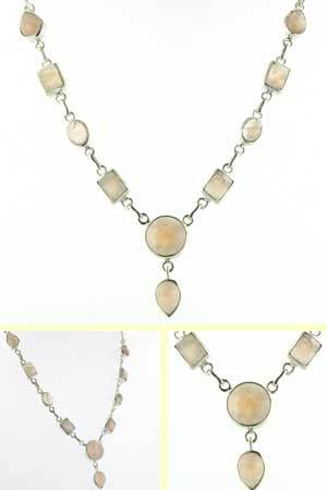 Rose Quartz Necklace Norma