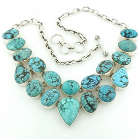 Turquoise Necklace Lucia