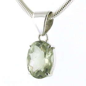 Green Amethyst Pendant Candy