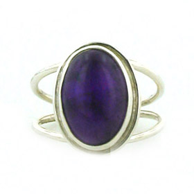 Amethyst Ring Bazille