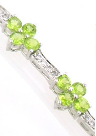 Peridot Bracelets & Peridot Bangles - Booth and Booth