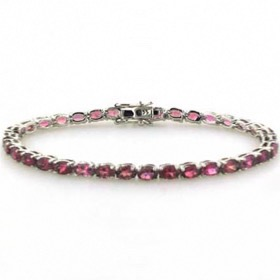 Tourmaline Bracelet Christine in Sterling Silver