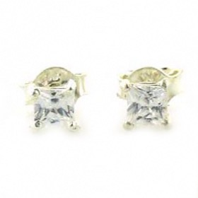 Cubic Zirconia Stud Earrings Shula