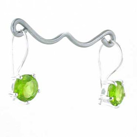 Peridot Drop Earrings Alexandra