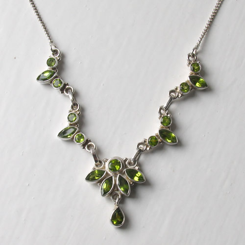 Peridot Necklace Deborah