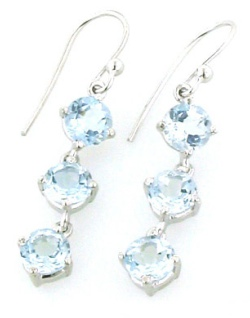 Aquamarine Silver Jewellery - Gemstone Jewellery
