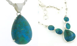 Chrysocolla Jewellery