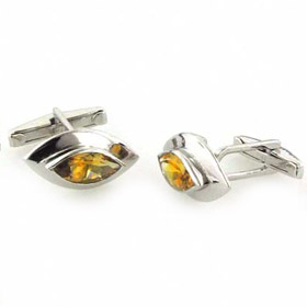 Citrine Cufflinks Wordsworth