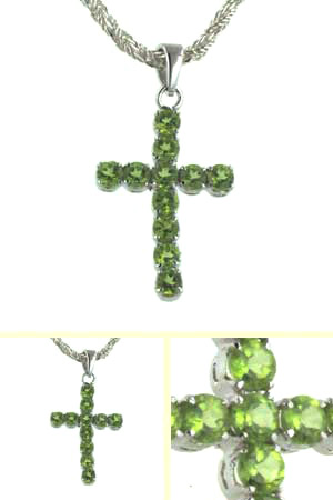Peridot Cross Sally