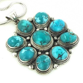 Turquoise Pendant Jeanette