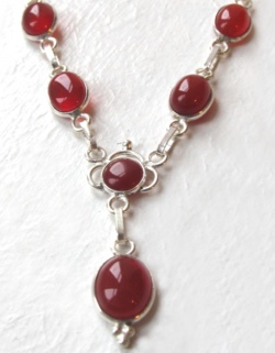 Carnelian Necklace - Booth and Booth