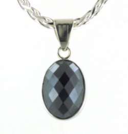 Haematite Pendant - Boothandbooth.co.uk
