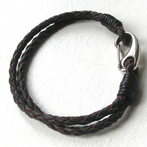Brown Leather Bracelet Holst