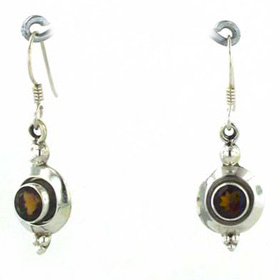 Smokey Quartz Earrings Luella