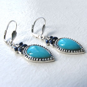 Turquoise Earrings Claudia