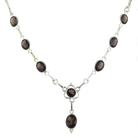 Smokey Quartz Necklace Larissa