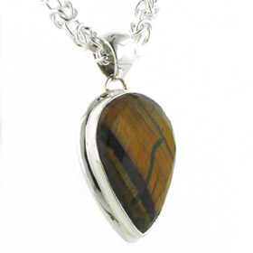 Tiger Eye Pendant Hetty