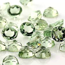Green Amethyst Gemstones