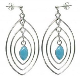Turquoise Earrings Giovanna