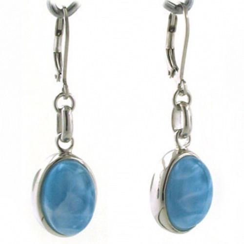 Larimar Drop Earrings Felicity