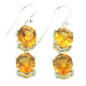 Citrine Earrings Katie