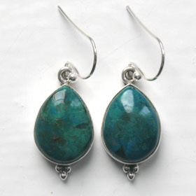 Chrysocolla Earrings Adelle