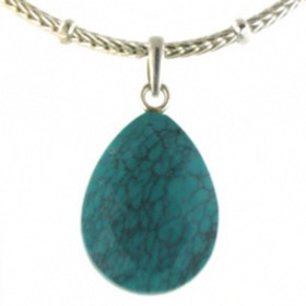 Turquoise Pendant Margherite