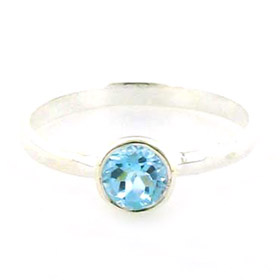 Blue Topaz Ring Matisse