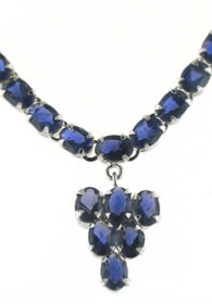 Iolite Necklace - Booth and Booth
