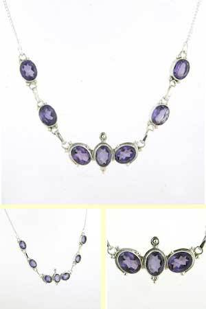 Amethyst Necklace Odette