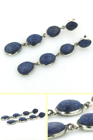 Lapis Lazuli Earrings Adrienne