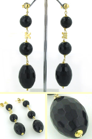 Black Onyx Earrings Louise