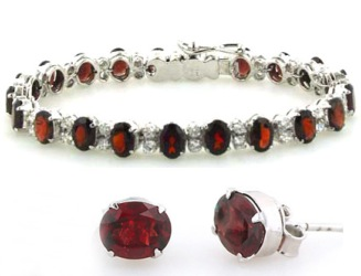 Garnet Jewellery - Gemstone Jewellery