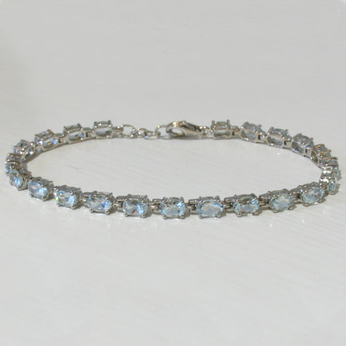 Aquamarine Bracelet Eleanor