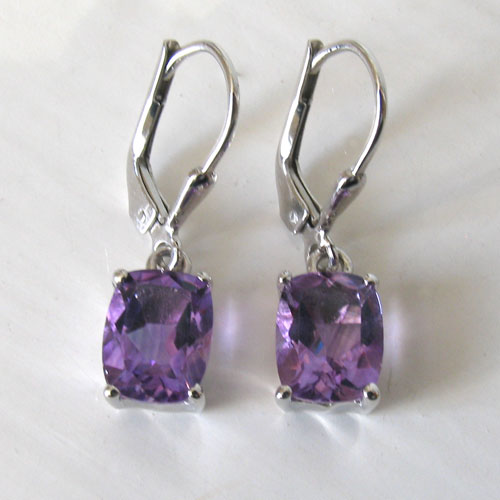 Amethyst Earrings Bethan
