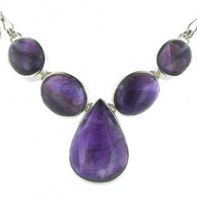Amethyst Necklace Bella