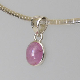 Pink Tourmaline Pendant Monique