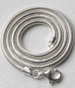 Silver Snake Chain Necklaces - Silver Chains