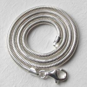 Sterling Silver Snake Chain - 3mm