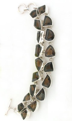 Smokey Quartz Bracelet - Booth and Booth