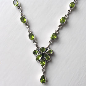 Peridot Necklace Bathsheba