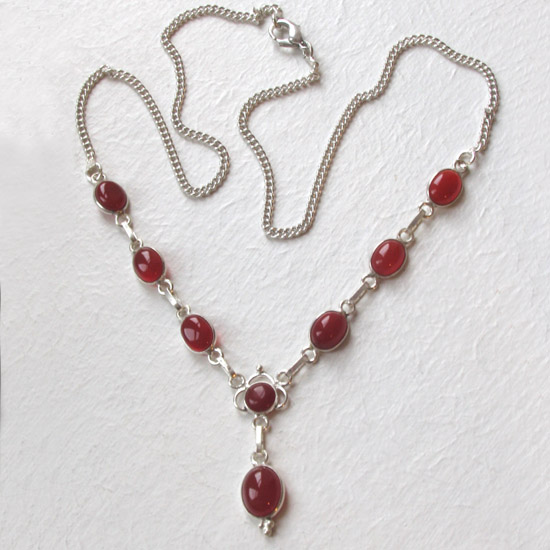 Carnelian  Necklace Larissa