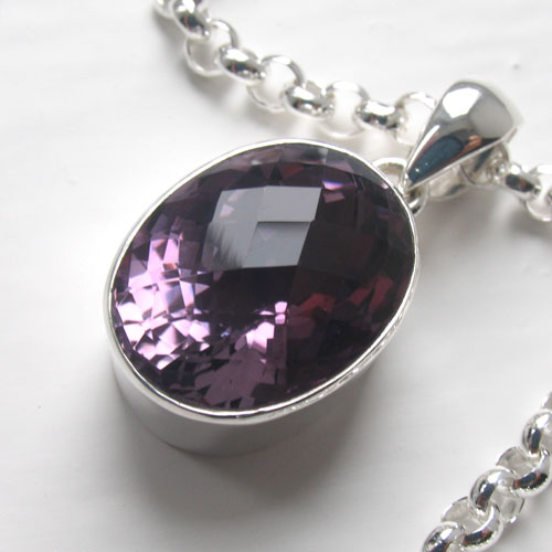 Amethyst Pendants - Booth and Booth